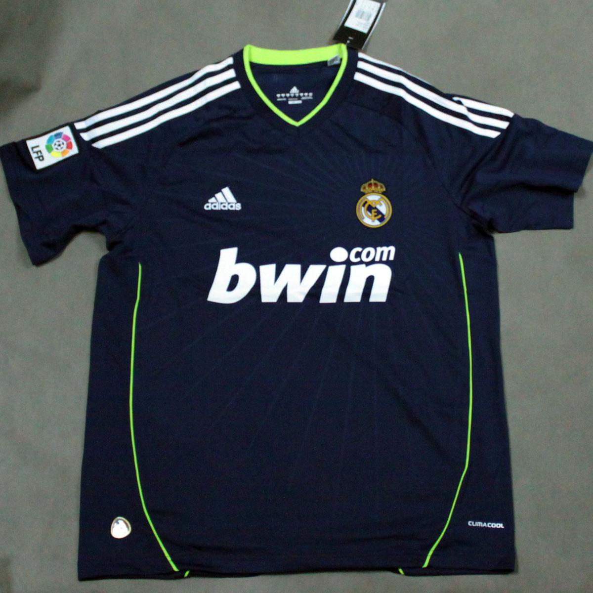 Футбольная форма Евро опыт Цена Реал Мадрид от трикотажа (предел 1) С коротким рукавом одежды футбол Реал