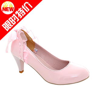 Shoes danxie shoes genuine pure color flowers and lovely lady high heel shoes women's singles new