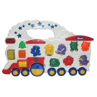 Authentic chicco high intellectual toys simulation animal locomotive 63000 toys for children