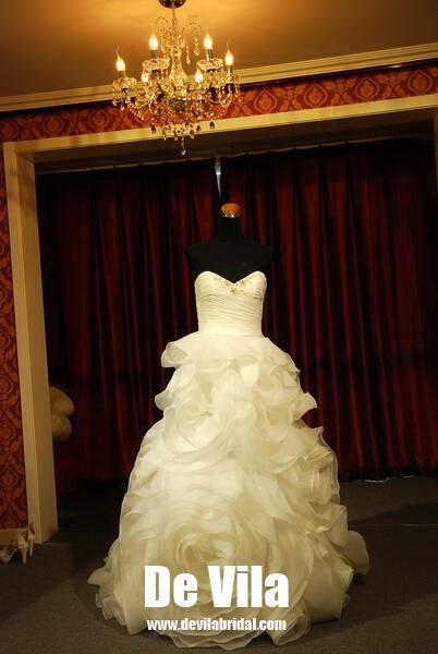 Свадебное платье Devila dvjl016 2011 )-Rose- Кружево Небольшой шлейф