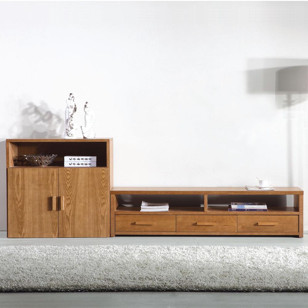 电视柜 水曲柳 电视柜 组合地柜 实木 液晶电视柜 电视柜东南亚