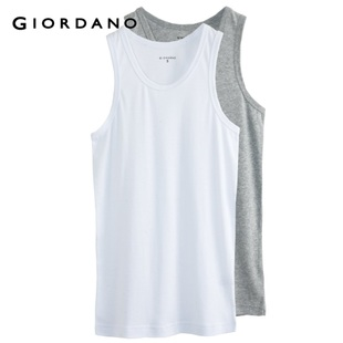 Giordano men's underwear two Pack in summer 2012 new simple but elegant round neck vest underwear 01242033