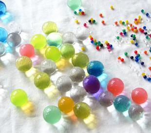 【花清香】不掉色,会变大的珠子 种植魔豆 晶莹剔透的珠珠