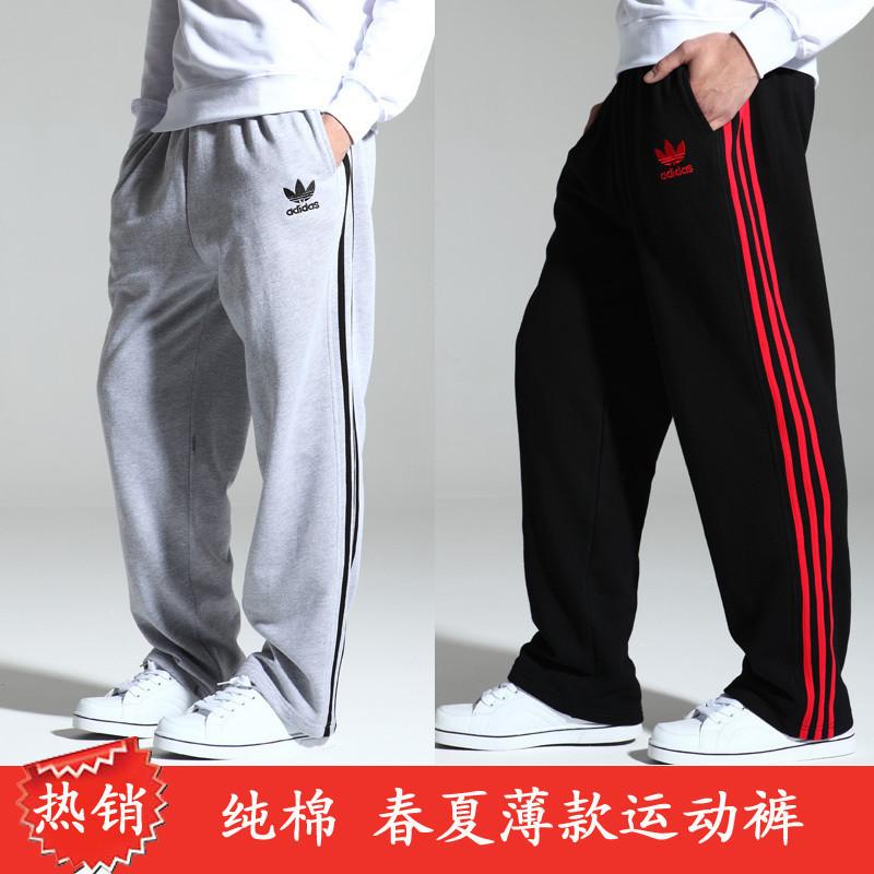 Брюки спортивные Adidas m01008 11 Мужская 100 хлопок Шнурок Летом 2011 года Дизайн, С надписями, Вышивка, С логотипом бренда % Спорт и отдых