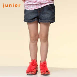 Giordano in summer 2012 new stock recommended daily denim hot pants shorts girls 03400031