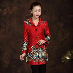 中年女装秋装外套 妈妈装秋冬装上衣2013外套中老年服装棉衣