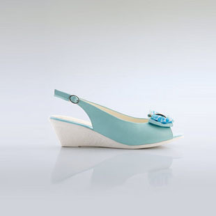 Moonbasa Sally's dream of female money shoes new summer iris wedges sandals fish mouth (038411211)