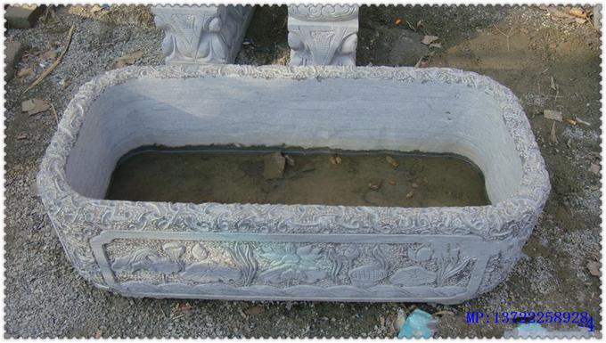 Изделие из камня имитированное под старину Античный аквариума в аквариум рыб танк белого мрамора естественный камень камень камень камню рыбы ct151
