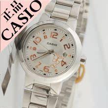 Casio / relojes Casio auténtico lujo de acero puntero Señora Mariposa nuevos aficionados
