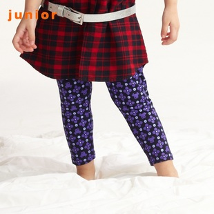 Colorful world of 2012 new stock recommendation Giordano girls printed tights for children 03491502