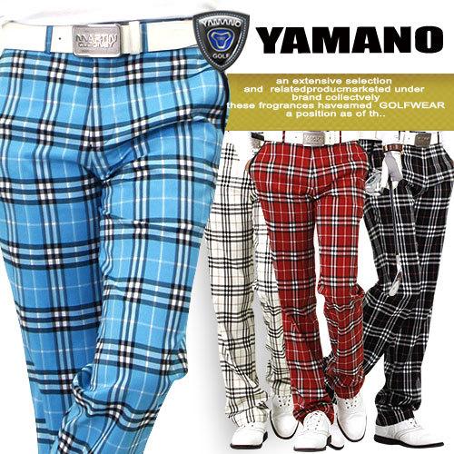 Одежда для гольфа Yamano YP/cckp Golf YP-CCKP Длинные брюки Муж.