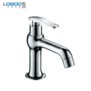 Valley bathroom European style single Washbasin faucet single hole copper single cold tap hold water  open