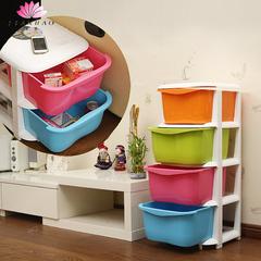 塑料收纳柜 整理箱 抽屉式储物柜 组合整理柜宝宝儿童衣柜 置物架