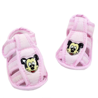 19ed437e7e38 0-12 years old baby soft bottom spring 3 paragraph 6 girls 7 8 male  children 4 months baby 9 toddler summer cool cloth shoes