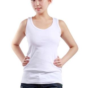 大码女装夏季纯棉吊带背心胖MM打底上衣宽松200斤加肥无袖T恤衫薄