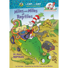 Miles and Miles of Reptiles All About Reptiles Cat in the Hats Learning Library 苏斯博士图书馆爬行动物精装IS