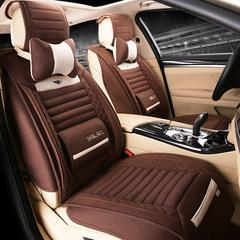 汽车坐垫四季通用全包座垫夏专用北京现代胜达索纳塔八ix35