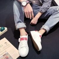 怡安踏雪q361小白鞋男夏季男鞋潮流白鞋板鞋帆布ulzz