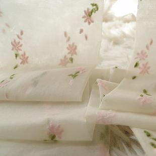 洛丽塔碎花连裤袜森女系小仙女清新碎花朵袜子日系白色提花丝袜子