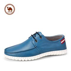骆驼牌男鞋 舒适真皮男日常鞋 男士皮鞋潮流男单鞋子