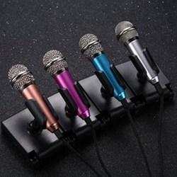 手机唱吧 迷你全民K歌小话筒台式电脑专用电容麦唱歌麦克风