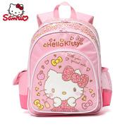 SANRIO Hello Kitty凯蒂猫豹纹系列小学生1-3-5年级书包背包