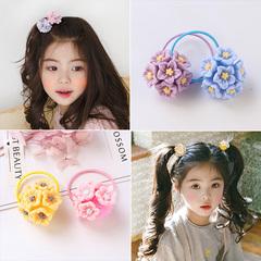 儿童女孩可爱宝宝发圈头花女童扎头发皮筋不伤发公主头绳头饰