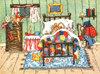 小小鱼十字绣A3201【森林老鼠】卧室挂画欧式卡通动物精准印花