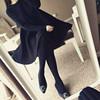 2018大码女装200斤秋冬遮肚子连衣裙胖妹妹毛衣针织打底衫