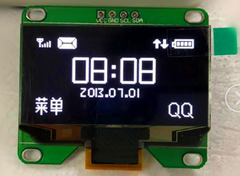 原厂1.54寸oled显示屏IIC接口 寸液晶屏串口