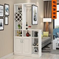 客厅玄关柜欧式酒柜简约现代隔断间厅柜小户型家用吧台装饰门厅柜
