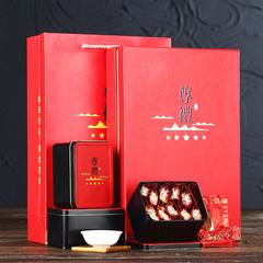 安溪铁观音茶叶礼盒装浓香型1725秋茶高档红色茶新年送礼年货