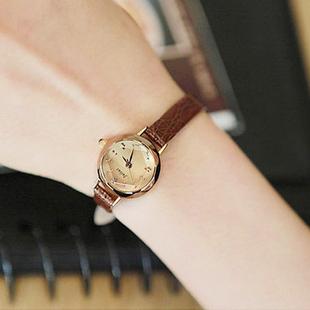 julius聚利时韩国时尚细皮带女表小巧迷你小表盘学生防水女士手表