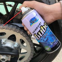 车仔链条油摩托车链条专用油润滑油油封链条油450ML2瓶把刷子