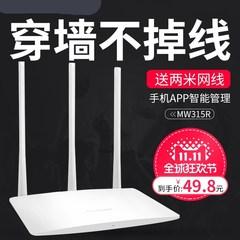 便携连接线网吧中国移动宽带猫室外300M家用光纤宽带穿墙王路由器