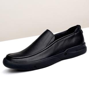 SDEP男士头层牛皮大码小码软面软底男鞋舒适耐磨厚底商务皮鞋