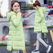 冬季2018款新棉衣女中长款学生棉袄棉服加厚保暖外套女装