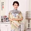 中国风特色南京云锦围巾中式传统工艺送外国人老外外事小礼物