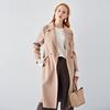 双面羊绒大衣女18秋冬季中长款羊毛小个子赫本风毛呢外套