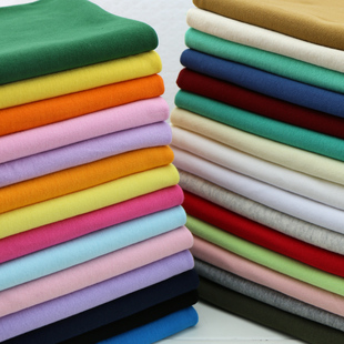 纯棉弹力针织螺纹面料 夏季体恤薄衣物收口11罗纹领口袖口裤腰头
