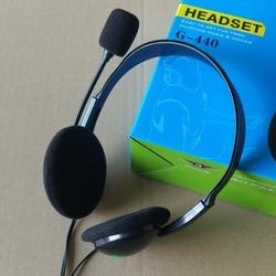 电脑笔记本头戴式耳机耳麦 游戏耳机 家用商务耳机 带麦