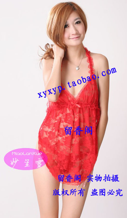 Contains Adult Sexy lingerie uniform temptation Evening dress preppy secretary sexy sleepwear dress female overalls M066